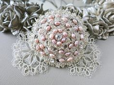 Reserved for Anet Custom Bridal Tatting Silver Lace by sukran, $170.00