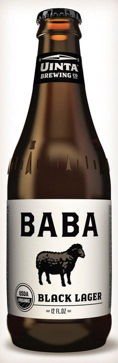 Baba Black Lager  #Beer #organic