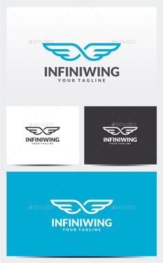 Infinity Wing Logo Template Vector EPS, AI. Download here: http://graphicriver.net/item/infinity-wing-logo-template/11934118?ref=ksioks