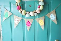 Colorful Polka Dot Easter Egg by SweetSaraLyn on Etsy