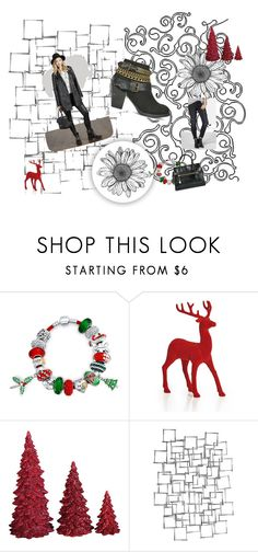 Santa Baby Pinterest Challenge by wild3cat on Polyvore featuring Bling Jewelry, Dot & Bo, Paul Brodie, Arteriors and fasionistas Santa Baby I am almost ready for Christmas but I need a few Just Fab items first......like this beautiful wine colored dress, so pretty & just perfect for all the holiday festivities ,  add a pair of brown heeled boots  and a gorgeous  warm sweater jacket, add a cute bag and you're all set...Just Fab has it all  Santa Baby & it's all on sale now  at JUSTFAB.CA  <3…