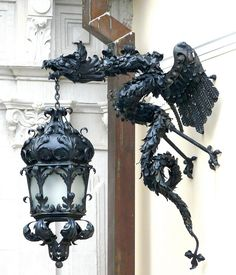 These would be pretty intense next to your door, but maybe if you bought a gothic revival. It does look beautifully made.