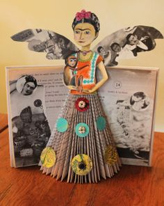 Frida book with wings~Image © Julie Flandorfer