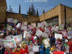 محلي الطيبة في درعا يعلق دوام المدارس في البلدة خوفا من القصف