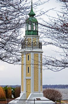 Oshkosh Wisconsin Brays Point Lighthouse