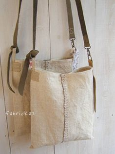 The instructions are in Japanese, but had to be knotted as it is … - Handbags : Canvas Bag. The instructions are in Japanese, but had to be knotted as it is . My Bags, Purses And Bags, Linen Bag, Fabric Bags, Tote Purse, Handmade Bags, Beautiful Bags, Bag Making, Leather Bag