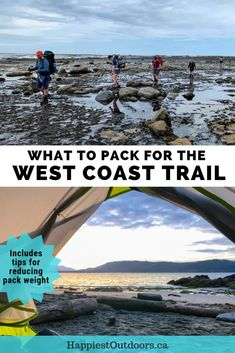 Everything you need to pack for the West Coast Trail hike on Vancouver Island in Canada. Get this detailed West Coast Trail packing list. It also includes tips on how to reduce your backpack weight. #WestCoastTrail #Canada #BritishColumbia #VancouverIsland #hiking #packinglist #backpackingpackinglist West Coast Trail, West Coast Canada, Canadian Travel, Colorado Hiking, Canoe Trip, Best Hikes, Vancouver Island, Travel Usa, Travel Tips