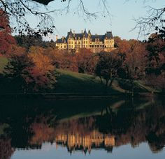 """This is the Biltmore Estate in Asheville, NC. This is probably my favorite place from my childhood and for me would be the perfect place to get married if in the US. It is after all """"America's Castle."""""""