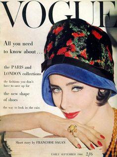 Maggie Eckhardt, Vogue UK, Sept. 1960 | Sophia | Flickr