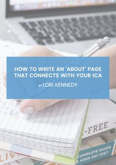 How to Write An About Page for Your Website That Connects with Your ICA (Ideal Client Avatar) Business Hub, Online Business, Client Profile, Welcome Packet, About Me Page, Product Page, Online Entrepreneur, Health Coach, Avatar