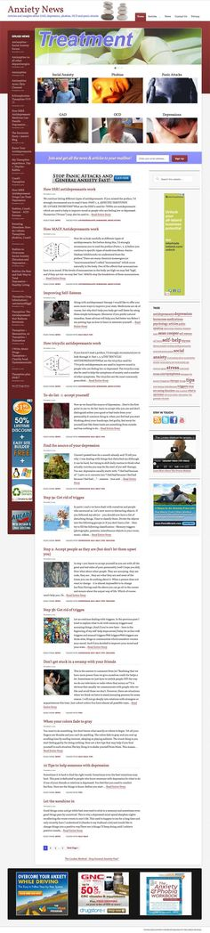 Anxiety & Depression  Popular/high profit niche with potential to become an authority site! Includes static AND aggregated content. 'Drugs News' feed gets all the major SSRIs for top-paying keywords. AdSense paying up to 50 dollars per CLICK and high gravity ClickBank products. All major psychological problems covered, fully automated, updates daily. Includes license to top class syndication (paid) plugin AutoBlogged!