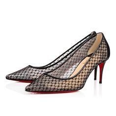 35bd1dd2793 CHRISTIAN LOUBOUTIN Saramor 70 Black Dentelle - Women Shoes - Christian  Louboutin.  christianlouboutin  shoes