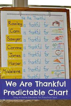 Thanksgiving Literacy Activity - Stay at Home Educator