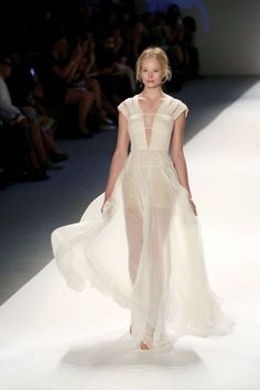 Sheer Perfection: Tadashi Shoji dress