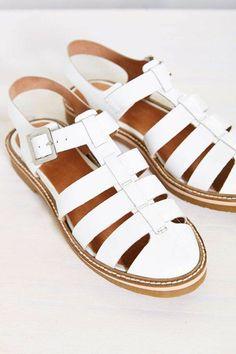 sandales femme blanches, les tendances de la mode pour 2016