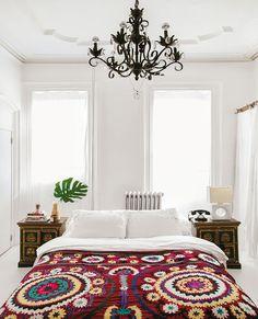 Hoe creëer je de Boho-look in je slaapkamer? Zo dus! Ontdek deze stijl op http://westwing.me/ontdekdestijl