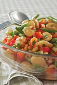 This Three Bean Salad recipe makes a great side-dish 3 Bean Salad, Three Bean Salad, Bean Salad Recipes, Healthy Christmas Recipes, Healthy Recipes, Cooking Classes, Salads, Potato Salad, Side Dishes