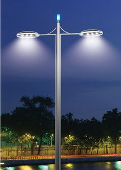 #AtlanticCity idea. invest in colorful LED street lighting | LED Street Light Fixtures another example of how AC can brighten the island.  I personally think that soft white platinum and crisp baby blue LED combo would mesh well together. :)