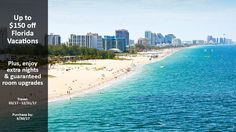 Up to $150 off Florida Vacations - https://traveloni.com/vacation-deals/150-off-florida-vacations/ #floridavacation #usavacation #usatravel #florida
