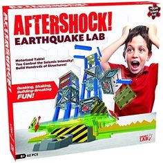SmartLab Toys Aftershock Earthquake Lab Set (62 Piece)