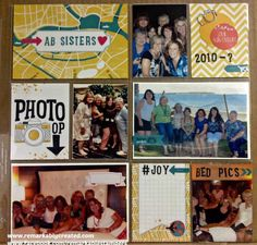 Love the new Project Life Kit from Stampin' UP! #PLxSU #projectlife #stampinup #remarkablycreated
