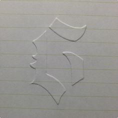 DIY Embossing on Paper Tutorial- all you need is paper, an empty mechanical pencil and thin cardboard. Via Greg Mathews.