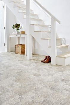 Leoline has added new decors to its popular Stonemark collection, great for busy hallways! www.leoline.co.uk
