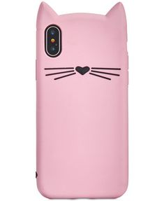 Image 1 of kate spade new york Silicone Cat iPhone X Case