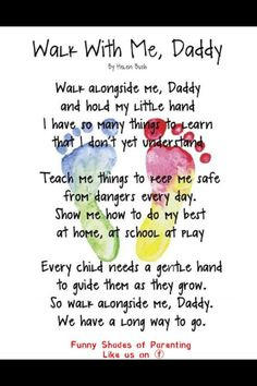 Great Father's Day poem!!