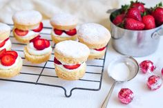 petite strawberry shortcakes