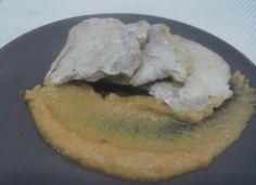 Lomo de cerdo con salsa de manzana para #Mycook http://www.mycook.es/cocina/receta/lomo-de-cerdo-con-salsa-de-manzana