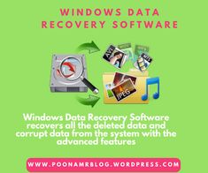 Use the Windows Data Recovery tool to restores the deleted file or folders from the system and saves them into user-defined location. This Windows Data Recovery Software is also users to repair corrupt FAT and NTFS files system and is compatible with all the version of Windows.