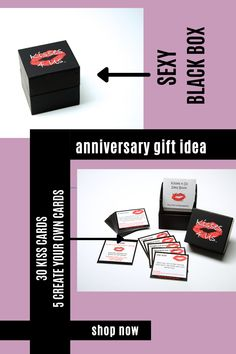 Kisses are the perfect Anniversary Gift for celebrate their special day together! Kisses 4 Us is a box of fun, flirty, romantic kisses for Making Kissing Fun! Anniversary Ideas For Him, First Wedding Anniversary, 1st Anniversary Gifts, Paper Anniversary, Anniversary Dates, Romantic Meals, Romantic Gifts, Gifts For Husband, Gifts For Her