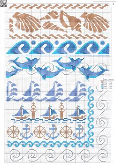 Thrilling Designing Your Own Cross Stitch Embroidery Patterns Ideas. Exhilarating Designing Your Own Cross Stitch Embroidery Patterns Ideas. Cross Stitch Sea, Cross Stitch Bookmarks, Crochet Bookmarks, Cross Stitch Borders, Cross Stitch Charts, Cross Stitching, Cross Stitch Embroidery, Embroidery Patterns, Loom Patterns