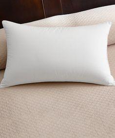 Look what I found on #zulily! Soft Down-Alternative European Pillow by Cuddledown #zulilyfinds