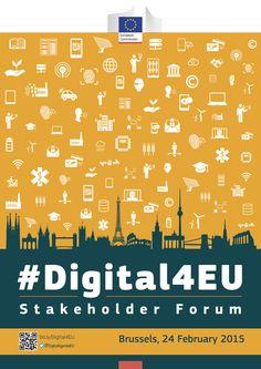 What should be the key digital priorities for Europe? Is it #copyright, #industry40, #digitalskills or something else? Come to #Digital4EU & take part in shaping the future of digital Europe. See you in BXL on Feb 24. https://ec.europa.eu/digital-agenda/en/news/save-date-digital4eu-stakeholder-forum-europes-new-digital-priorities-24-february-2015