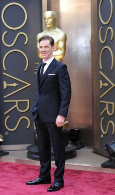 #HQ - Benedict Cumberbatch attends the Oscars held at Hollywood & Highland Center on March 2, 2014 in Hollywood, California
