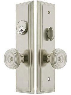 Unique Mortise Lock Entry Set