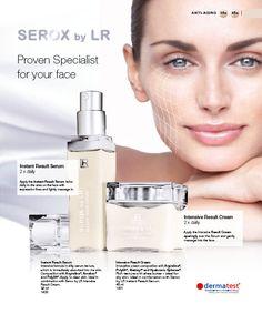 Serox by LR  More info  www.lrworldshop.com Lr Beauty, Serum, Lipstick, Face, Shopping, Lipsticks, Faces, Facial