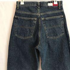 Vtg Tommy Hilfiger Denim Jeans Flag Size 30 / 30 Mens Excellent Shape #TommyHilfiger #Relaxed