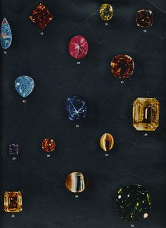 #gemstones #vintage #scan