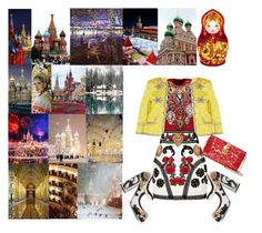 """""""From Russia with Love"""" by keepfashion92 ❤ liked on Polyvore featuring Dolce&Gabbana and Gucci"""