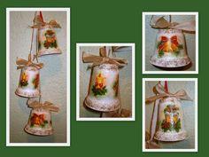 zvončeky z jogurtových kelímkov, Vianočné ozdoby | Artmama.sk