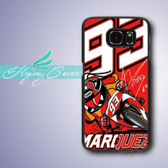 Coque Marc Marquez Red 93 Phone Cases for Samsung Galaxy S3 S4 S5 S6 S7 Active Mini Case for Samsung Galaxy Grand Prime Cover.