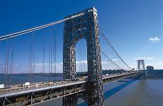 new york bridges | ... bridge over the Hudson River that links New York City and New Jersey