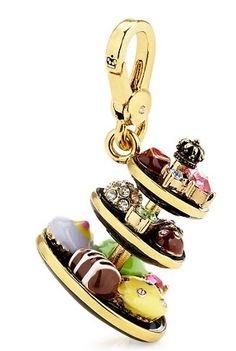 Juicy Couture Tiered Dessert Tray Charm 2012