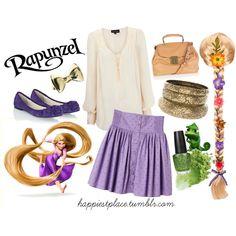 """Rapunzel"" by disneyinspired on Polyvore"