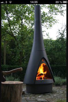 Eldstad för trädgården perfekt för lördagsgrillning