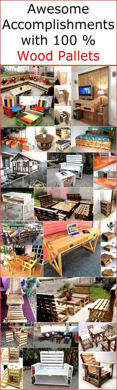 Keeping in mind the ideas we have gathered here, whoever starts reshaping the wooden pallets  will end up in awesome accomplishments which every visitor will praise. Either a person wants to decorate his/her home or planning to open a restaurant, he/she can get the help of the wood pallets in saving the money by using them creating the furniture for the place. A person can go for creating the furniture with his/her own hand if anyone has purchased a new home for which furniture is needed…