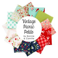 Vintage Picnic Petite Fat Quarter Bundle<br/>Curated by Fat Quarter Shop